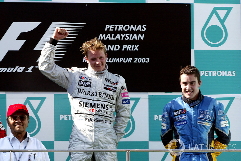 1. Grand-Prix-Sieg für Kimi Räikkönen