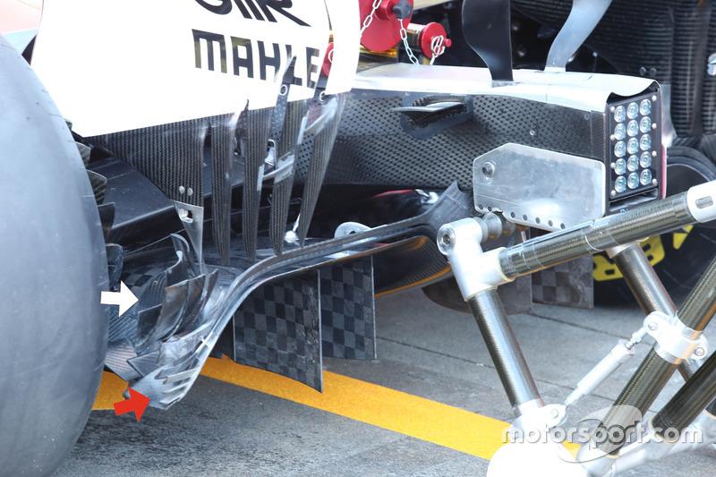 Ferrari SF70H diffuser wing