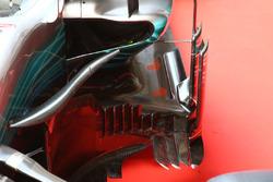 Mercedes AMG F1 W08: Seitenkasten, Detail