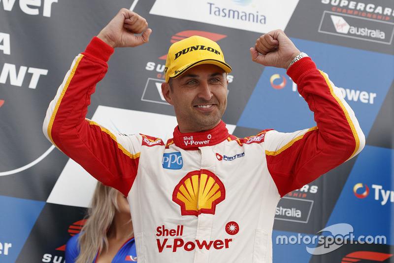 1. Fabian Coulthard, Team Penske, Ford