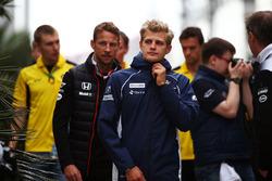 Маркус Эрикссон, Sauber и Дженсон Баттон, McLaren