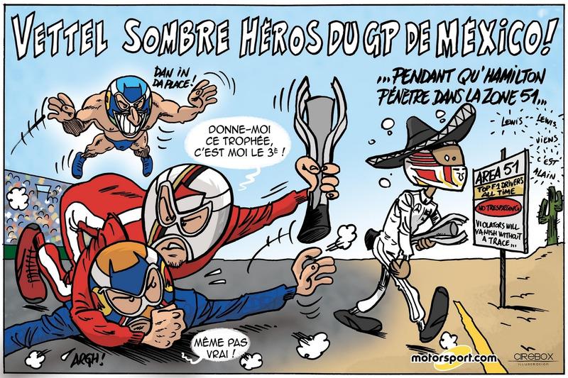 GP du Mexique - Vettel sombre héros