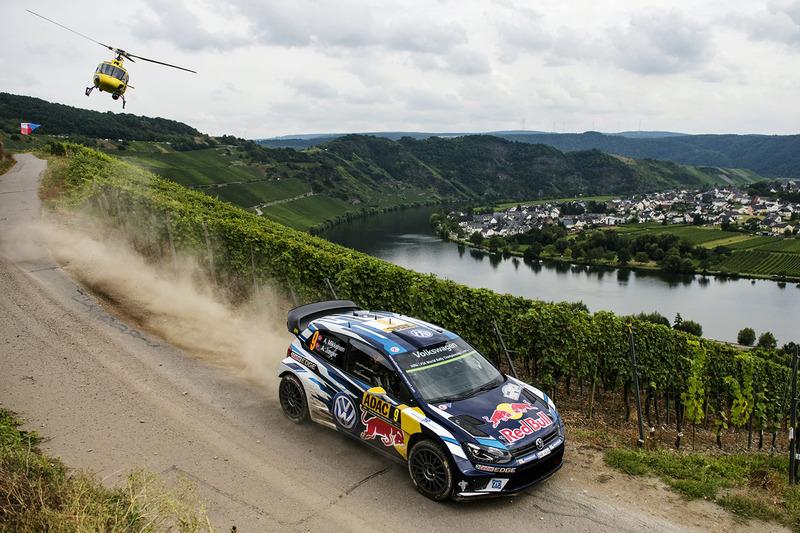 3. Andreas Mikkelsen, Anders Jäger, Volkswagen Polo WRC, Volkswagen Motorsport