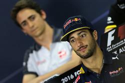Daniel Ricciardo, Red Bull Racing during the press conference