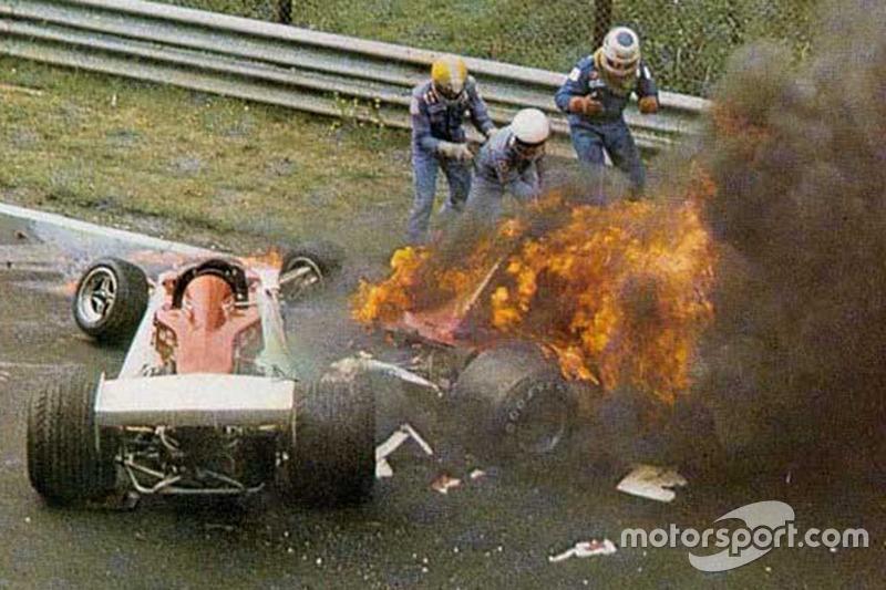 GP Alemania 1976: el infierno en llamas para Niki Lauda