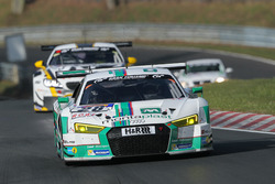 #28 Land Motorsport, Audi R8 LMS: Marc Basseng, Connor de Phillippi, Timo Scheider, Mike Rockenfeller