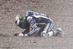 Хорхе Лоренсо, Yamaha Factory Racing crash