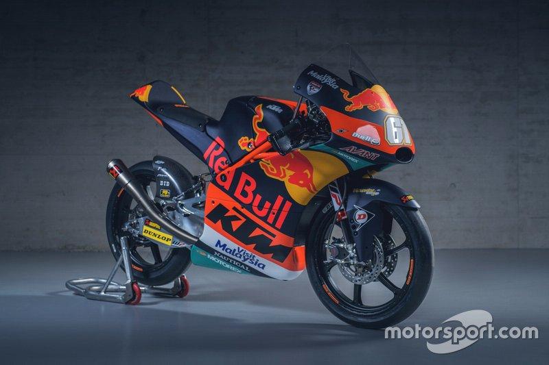 La moto di Can Öncü, Red Bull KTM Ajo