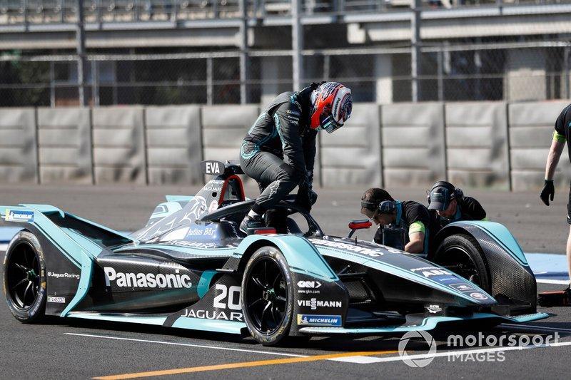 Mitch Evans en su Panasonic Jaguar Racing, Jaguar I-Type 3