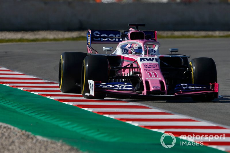 Sergio Perez, SportPesa Racing Point F1 Team RP19