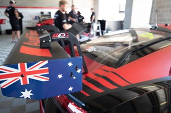 #2 Audi Sport Team Valvoline Audi R8 LMS rear wing detail