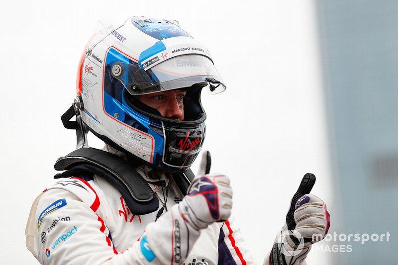 Sam Bird, Envision Virgin Racing celebra