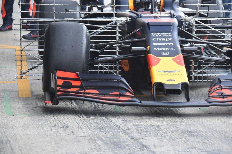 Передняя часть Red Bull RB15