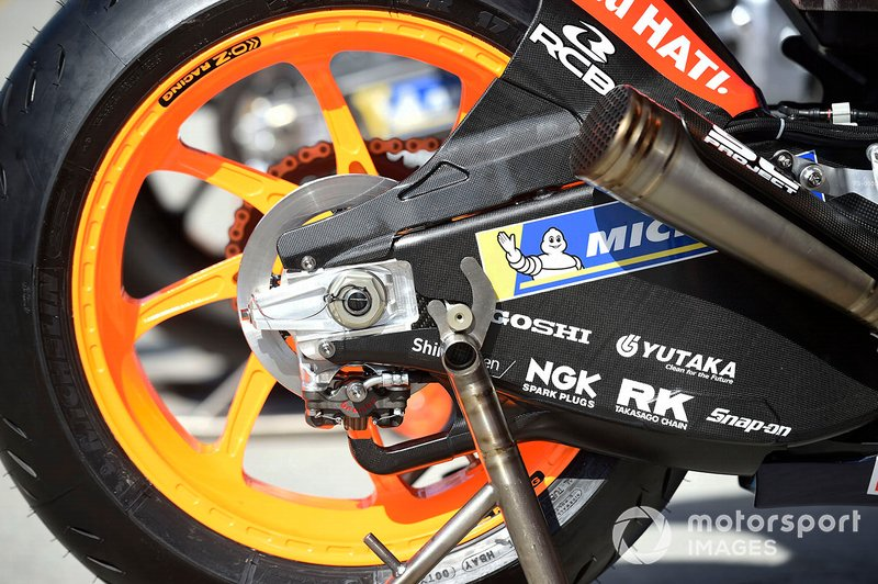 Repsol Honda Team bike detalle