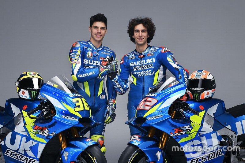 Joan Mir, Team Suzuki MotoGP; Alex Rins, Team Suzuki MotoGP