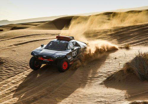Audi Dakar testing