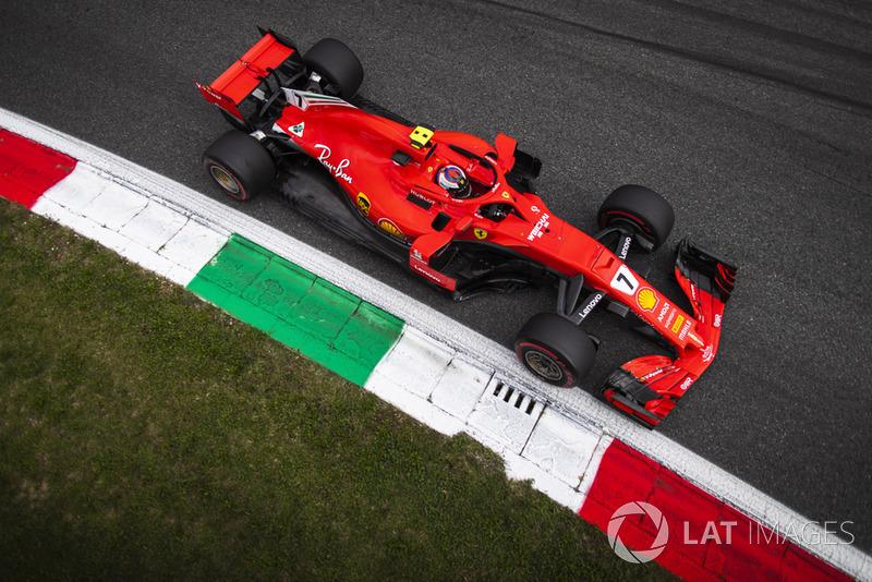 Italie - Kimi Räikkönen