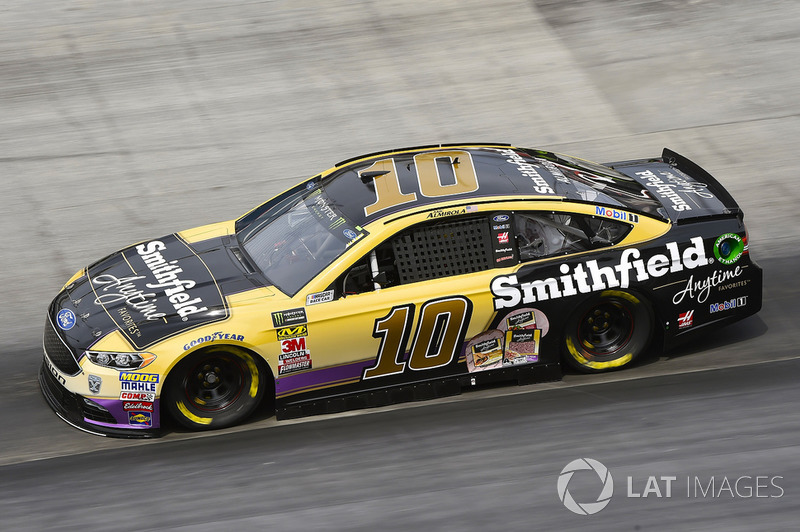 8. Aric Almirola, Stewart-Haas Racing, Ford Fusion Smithfield Anytime Favorites