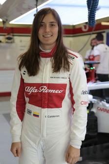 Tatiana Calderon, Sauber