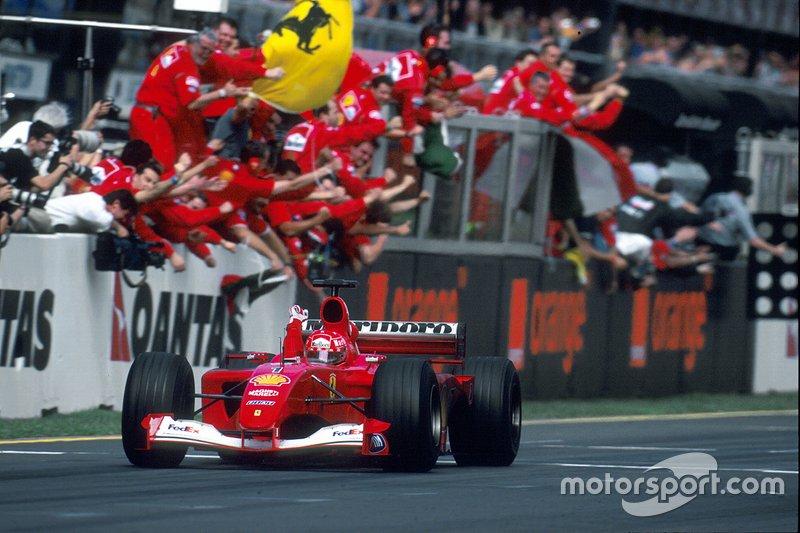 45勝目:2001年オーストラリアGP