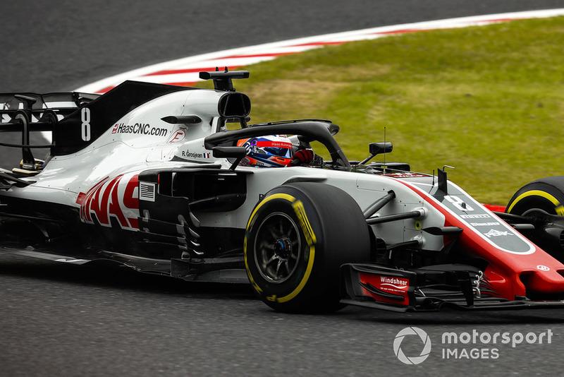 25: Romain Grosjean: 101 grandes premios (el 71,13% de los disputados)