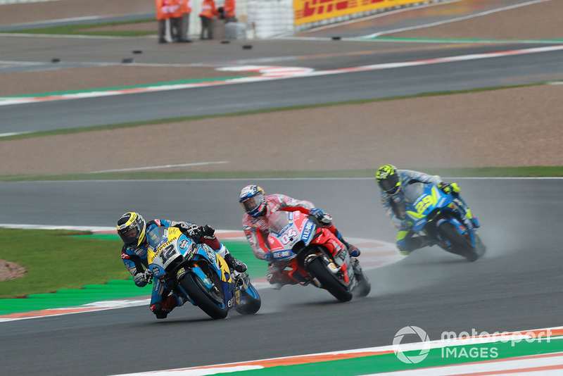 Томас Люті, Estrella Galicia 0,0 Marc VDS, Андреа Довіціозо, Ducati Team, Андреа Янноне, Team Suzuki MotoGP