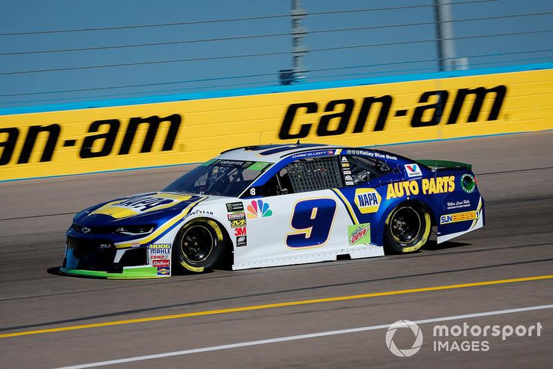 2. Chase Elliott, Hendrick Motorsports, Chevrolet Camaro NAPA Auto Parts