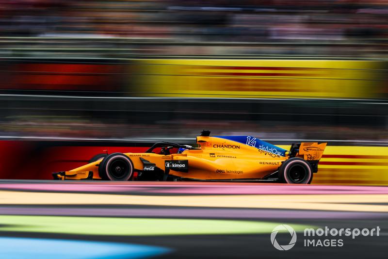 12. Fernando Alonso, McLaren MCL33