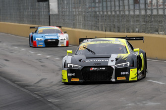 #66 Audi Sport Team WRT Audi R8 LMS: Robin Frijns