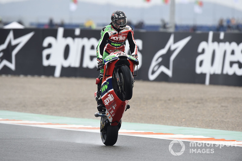 MotoGP Valencia: Scott Redding, Aprilia Racing Team Gresini