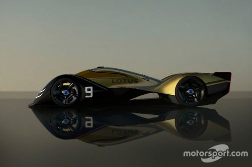 Prototipo eléctrico de Lotus para 2030