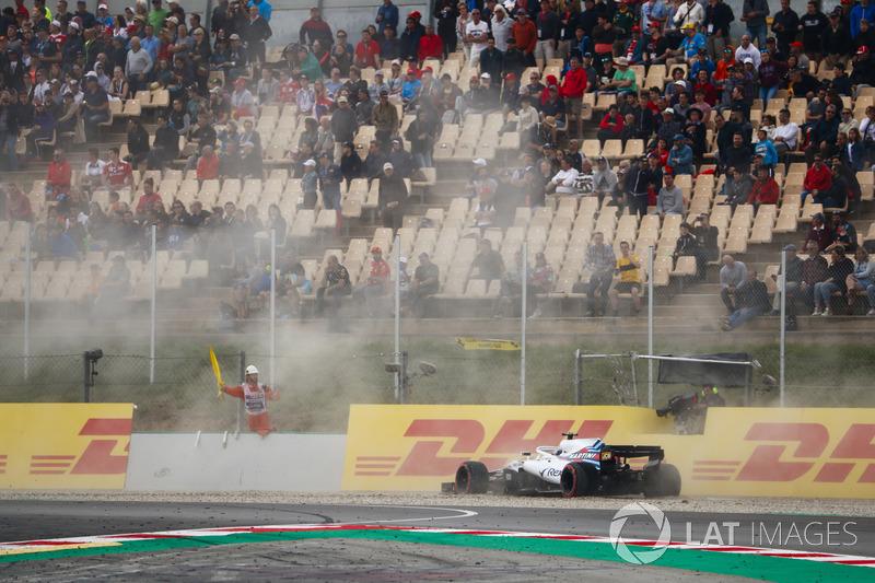 GP Spanyol - Lance Stroll (kualifikasi)