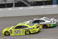 Paul Menard, Team Penske, Ford Mustang Menards/Richmond and Tyler Reddick, JR Motorsports, Chevrolet