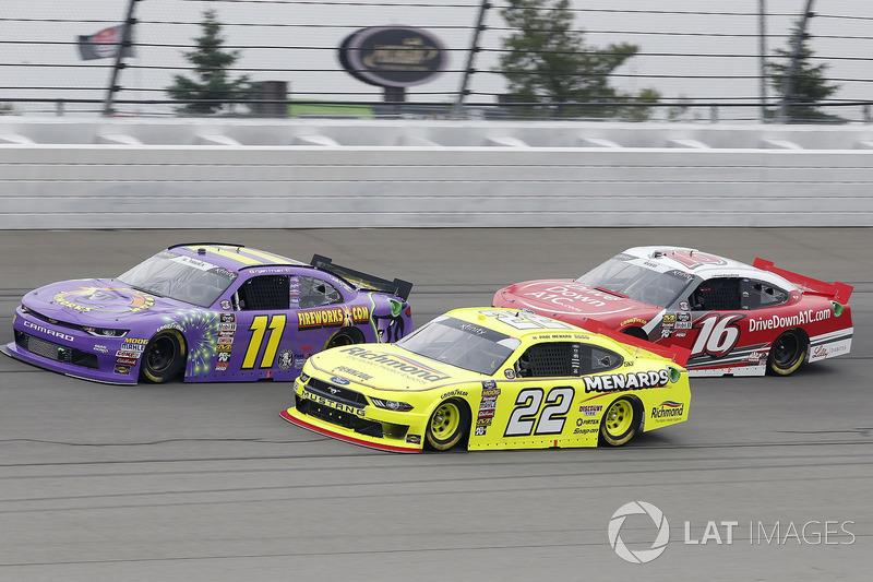 Paul Menard, Team Penske, Ford Mustang Menards/Richmond Ryan Truex, Kaulig Racing, Chevrolet Camaro Phantom Fireworks