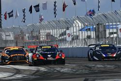 #26 Callaway Competition USA Chevrolet Corvette C7 GT3-R: Daniel Keilwitz, #96 Pfaff Motorsports Porsche 911 GT3 R: Scott Hargrove, #2 CRP Racing Mercedes-AMG GT3: TBA