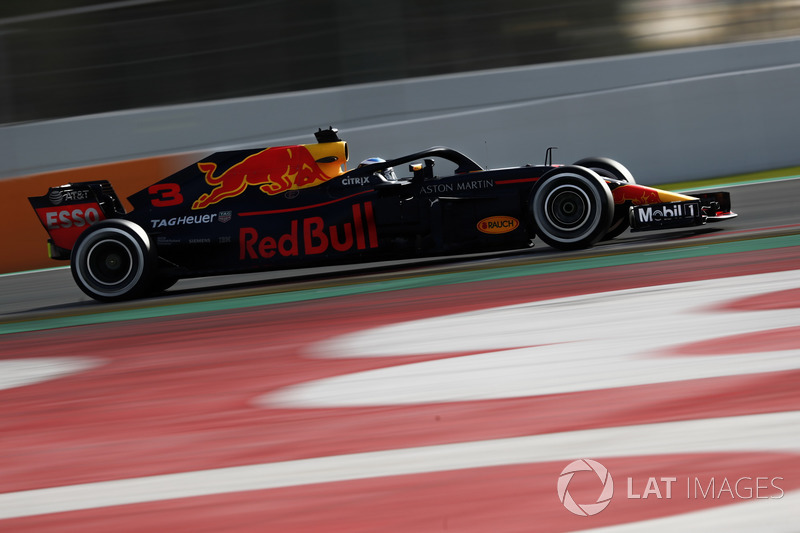 7º Red Bull RB14: 783 vueltas.