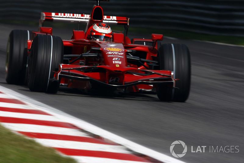 Кими Райкконен, Ferrari (75 очков, две победы + семь подиумов)