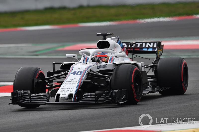 18º Robert Kubica, Williams FW41: 1:19.629 (Superblandos)