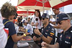 Daniel Ricciardo, Red Bull Racing and Max Verstappen, Red Bull Racing