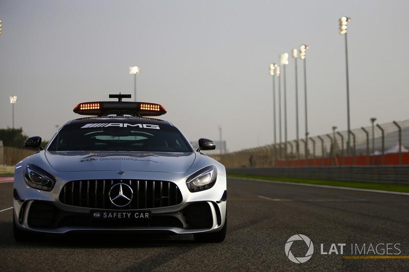 Safety car Mercedes AMG