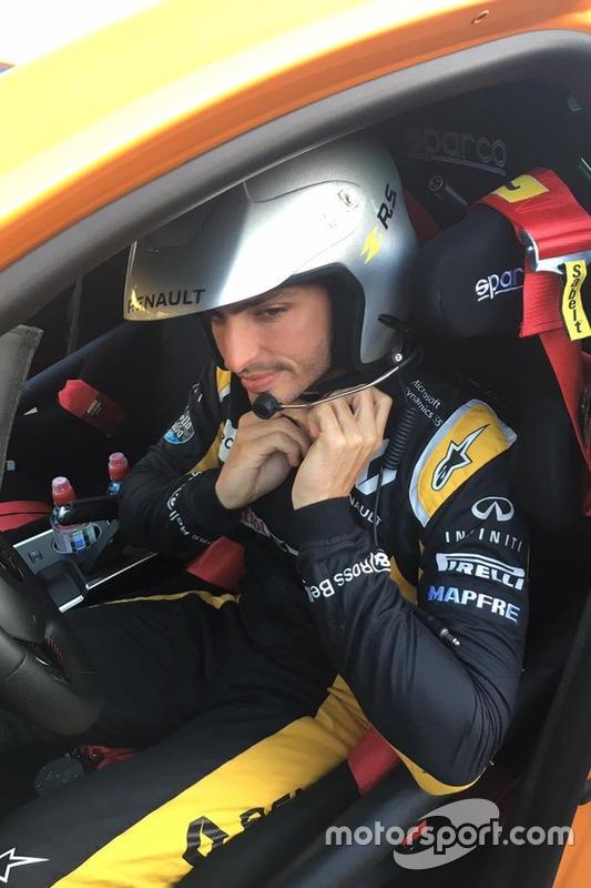 Carlos Sainz debuta en el WRC