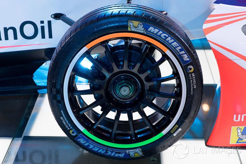 Mahindra Racing Formula E, Michelin tyre detail