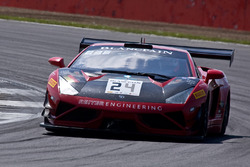 #24 Reiter Young Stars Lamborghini Gallardo R-EX: Lenny Marioneck, Mads Siljehaug, Patric Niederhaus