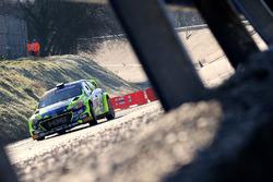 Tony Cairoli, Danilo Fappani, Hyundai NG i20 WRC