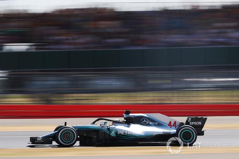 São 108 provas com a equipe, contra 110 de sua passagem na Mercedes.