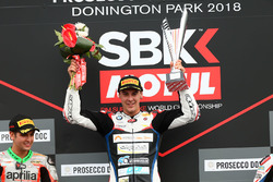 Podium STK1000: race winner Markus Reiterberger