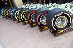 2018 Pirelli tyres
