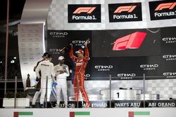 Podium: Race winner Valtteri Bottas, Mercedes AMG F1, second place place Lewis Hamilton, Mercedes AMG F1, third place Sebastian Vettel