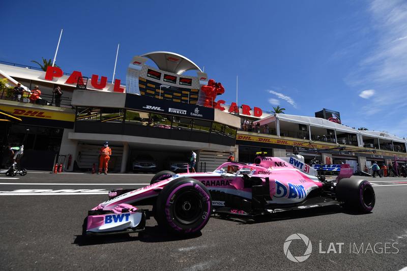 11: Esteban Ocon, Force India VJM11, 1'32.075