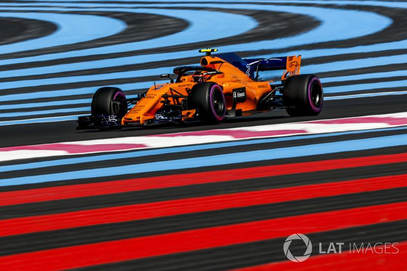 17. Stoffel Vandoorne, McLaren MCL33